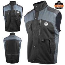 Ergodyne N-Ferno Thermal Insulated Construction Worker Vest Black - Choose Size