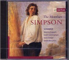 Christopher SIMPSON 1605-1669 The Monthes SONNERIE Monica Huggett CD Neu