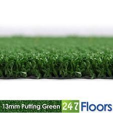 Artificial Grass, Quality Astro Turf, Cheap, Garden 13mm Putting Green Golf