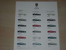 41327) Rover 600 Farben & Polster Prospekt 11/1995