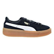 Puma Suede Platform Core Women's Sneakers Black/White 363559-02