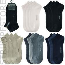 Camano Sneaker Socken 6Paar, alle Farben // 35-38, 39-42, 43-46, 47-49 Art. 3003