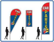 CAR REPAIR Flag  kit, teardrop flag,  feather flag, or sail flag.CAR REPAIR flag
