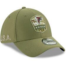 Atlanta Falcons New Era 2019 Salute to Service Sideline 39THIRTY Hat Olive
