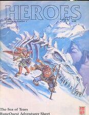 JDR RPG JEU DE ROLE / RUNEQUEST HEROES VOLUME 2 NUMBER 2