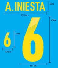 Spain ESPANA Home EURO 2012 PU FOOTBALL SOCCER PRINT FREE SHIPPING