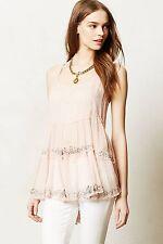NWT Anthropologie Casmilla Cami By Vanessa Virginia, Flowy elegance, 0,4,6 $148
