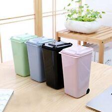 Cute Portable Mini Dustbin Small Garbage Can Kids Rubbish Bin Trash Storage Box