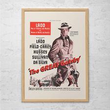 THE GREAT GATSBY Vintage Movie Ad - Retro Movie Poster - Classic Film Memorabili