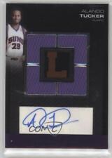 2007-08 Topps Letterman Autographed Quad Relics #QRA-ATU Alando Tucker Auto Card