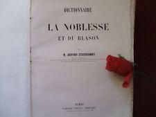 JOUFFROY D' ESCHAVANNES DICTIONNAIRE DE LA NOBLESSE