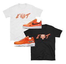 "Nike Air Force 1 AF1 Air Max Just Do It JDI Orange ""EAT"" SHIRTS"