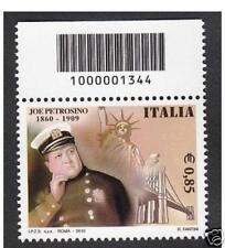 ITALIA 2010 - Joe Petrosino - CODICE A BARRE 1344