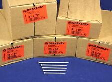 (3,98€/kg) 2,5 kg Senkkopf-Nägel VERZINKT 50, 60, 65, 70, 80 mm, Drahtstifte