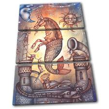 Zodiac Capricorn  Starsign TREBLE TOILE murale ART Photo Print
