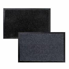 Schmutzfangmatte Fußmatte  ca. 80 x 120 cm Schwarz oder Grau