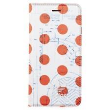 adidas ORIGINALS IPHONE 6 6S 7 8 + PLUS BOOKLET PHONE CASE APPLE RETRO WHITE NEW