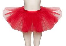 Red Premium Dance Ballet Tutu Skirt Childs & Ladies Sizes By Katz Dancewear