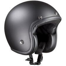 Bandit ECE Jet Helm Schwarz Matt