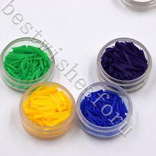 10 Box Dental Plastic Wedges Interdental Composite Fixing Restoration Gum 4 Size