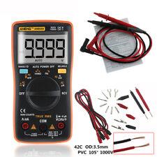 AN8009 Digital LCD Multimeter Voltmeter Ammeter AC/DC Volt Current Tester
