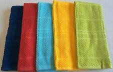 "Colorful Summer Kitchen Towel Assortment 16.5"" x 26""  100% Cotton"