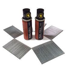 Brad Nails Pack 2500 +2 fuel cells 16G EG(25mm-64mm) Paslode IM65 & most makes