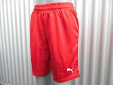 Puma Pantalón Chándal Fitness tiempo libre Pantalones cortos deportivos Rojo S