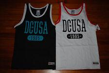 NEW Men's DC Shoe Co. Black/Aqua or White/Red Dyrdek Tank Top (S M L XL XXL)