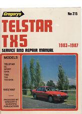 FORD TELSTAR TX5 SERVICE & REPAIR WORKSHOP  MANUAL 1983 - 87