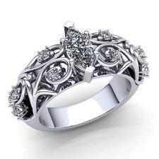 price of 1 Carat Princess Cut Diamond Engagement Ring And Wedding Band Set 1 Carat Ctw In 10k White Gold Travelbon.us
