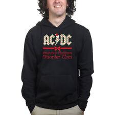 AC DC Christmas Xmas Santa Claus Party Gift Sweatshirt Hoodie Shirt