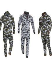 Camouflage Homme survêtement fermeture éclair Haut & Slim Fit jogging pantalon