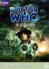 DOCTOR WHO SEEDS OF DOOM 2 DISC STORY #85 TOM BAKER NEW SEALED + TRACKING!!