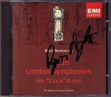 Roger NORRINGTON Signiert HAYDN Symphony No.101 Clock 102 EMI CD Sinfonien LCP
