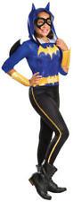 Batgirl Girls Fancy Dress DC Comic Book Day Week Superhero Kids Childs Costume