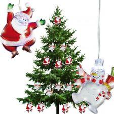 Weihnachtsbeleuchtung LED Licht Schneemann Santa Claus Lichterkette Effektlicht