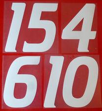 Flock Nummer number número home Trikot jersey shirt Dänemark Denmark 1988