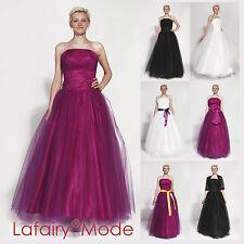 Abendkleid Ballkleid viele Farben Größen 34 bis 62 Tüllrock von lafairy Mode