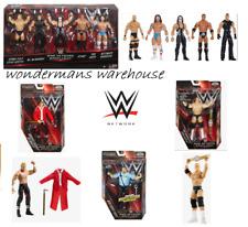 WWE Network Spotlight Figures- Ringmaster/Triple H/Sting/Rock/Warrior/Vince- NEW