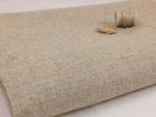 Rustic Look Linen Cotton Fabric Natural Fabric Zakka per metre