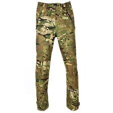 Genuine British army military combat MVP MTP camo rain pants waterproof goretex