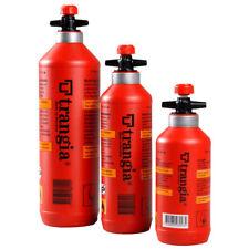BOTTIGLIA di Carburante Trangia Con Valvola di sicurezza - 3 misure 0.3l, 0.5l o 1 LITRI