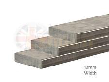 Foglio piatto acciaio temperato PIASTRA METALLICA-selezionare Lunghezza 12mm x 3mm muro FAI DA TE RIPARAZIONE