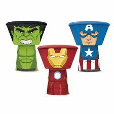 Marvel® Avengers 3PC Kids Plastic Stacking Meal Sets - Plate, Bowl & Tumbler