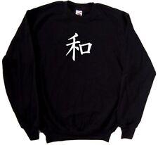 Kanji Peace Sign Sweatshirt