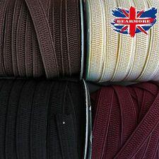"1/2"" 12mm wide strach Elastic waistband belt sewing dress material honeycomb"