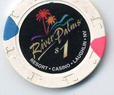 RIVER PALMS  LAUGHLIN  CASINO CHIP  $1