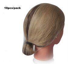 10 X Hair Wig Bun Soft Net Cap Dance Ballet Dancing Calisthenics Gymnastics