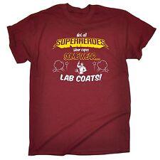 Non tutti i supereroi camici da laboratorio T-Shirt Comic Eroe SCIENZA Divertente Regalo Di Compleanno